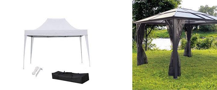 Cenadores 3x4, pérgola aluminio 3x4, carpa de jardin 3x4m