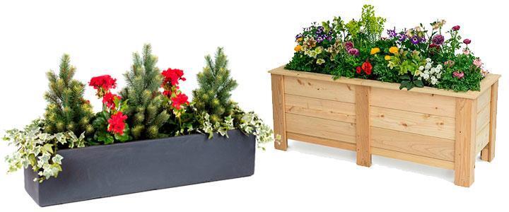 Jardineras y macetas para plantas