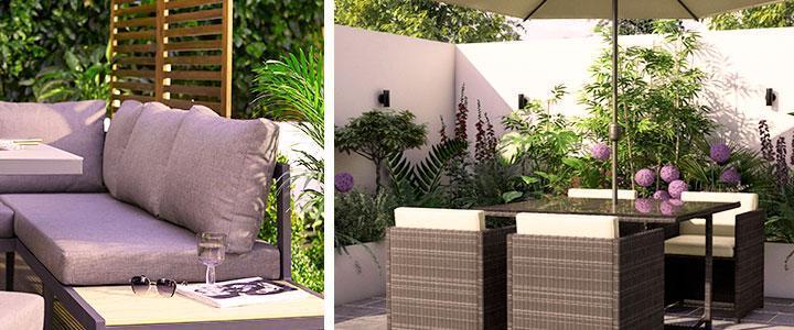 Muebles de jardín y terraza para exterior, precios baratos